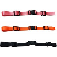 3 Pieces Backpack Chest Strap Heavy Duty Adjustable Backpack Sternum Strap Chest Belt with Buckle for Hiking and Jogging(Black ,Orange, Pink) Sports & Outdoors