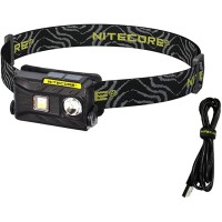 Nitecore NU25 360 Lumen Triple Output - White Red High CRI - Lightweight USB Rechargeable Headlamp Black Sports & Outdoors