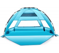 Arcshell Premium Extra Large Pop Up Beach Tent UPF 50+ Sports & Outdoors